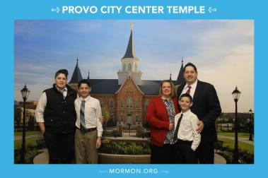Fam @ Provo City Temple