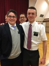 Elder Saunders and his awesome trainer, Elder Jones