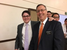 Me and my awesome mission president, President Bartlett