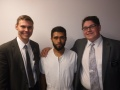 Elder LeFevre, Roy Gomez and I